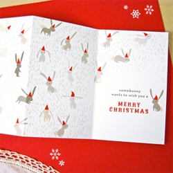 The Nimbus Factory ~ some beautifully illustrated, playful holiday cards and gift wrap ~ bunnies, narwhals, penguins, rams, penguins and more!