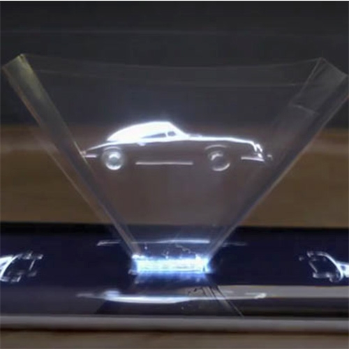 Porsche Creates Hologram Ad For 911 with a four-page spread featuring the new 911, and a prism – which helps users witness the automobile as a hologram when placed on a mobile device.