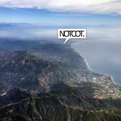 Operation Window Seat: YYC-LAX. It was stunning to fly into LA along the coast... and time to put some NOTCOT/LA rumors to rest!