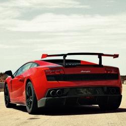 Lamborghini revealed the newest, lightest, and fastest Gallardo yet at the Frankfurt Motor Show: the über sexy LP570-4 Super Trofeo Stradale.