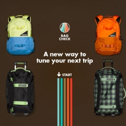 Burton's 'Bag Check' tool is an interactive product discovery experience that helps consumers select the right bag from hundreds of styles and features.