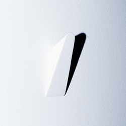 Wall or Coat Hook, simple, with clever mounting system, by Munich based designer Gerhardt Kellermann.