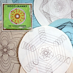 Hoot Nanny! its like a retro spirograph ~ with very fun pics and packaging!