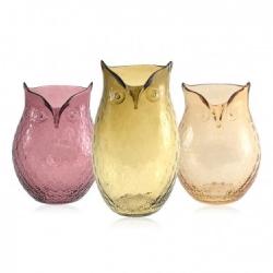 Hoot Vases! Owls gone glassy...