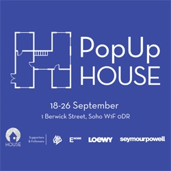HOUSE Collective take over 1 Berwick Street, Soho for nine days of workshops, talks and creative events showcasing design, performance, art and fashion with highlights including sessions from D&AD, Seymourpowell and Stand + Stare Collective.