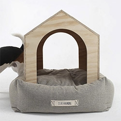 The Six Hands' Dog House Bed!