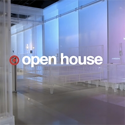 """Target Open House is a """"3,500 square-foot ode to IoT features a transparent, acrylic """"house"""" complete with acrylic furniture and detailing"""" in San Francisco"""