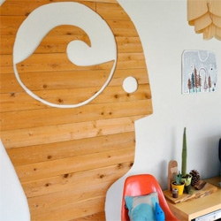 """Great sneak peek into the home of artist, Christopher Bettig of The Mountain Label!... """"look at the LA home of this frenchman (who grew up in nyc and ct and studied at mica)"""""""