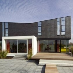 House M in Almere, the Netherlands.  Designed by architect Marc Koehler.