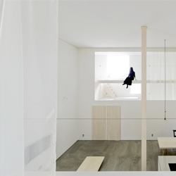 'House of Trough' is a dwelling east of Hokkaido by Jun Igarashi Architects.