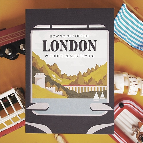 How To Get Out Of London Without Trying by Herb Lester. Easy escapes from London by public transport.