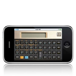 HP Turns their classic finance/scientific calculators into iphone apps! And they are pricey! but so retro geek chic...