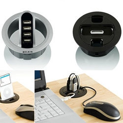 Belkin's latest ~ hubs to plug your desk holes...