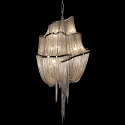 beautiful chandelier from hudson furniture