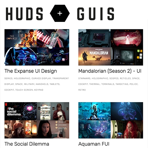 HUDS + GUIS!!!!!! I got sucked in with the Expanse post, but now i'm lost in the rest... there's something always so fun and inspiring about futuristic movie/tv scifi interfaces and tech.