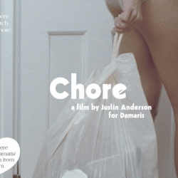 Amazing short film, Chore for the underwear brand Damaris by Justin Anderson - Who said that doing the laundry couldn't be sexy?