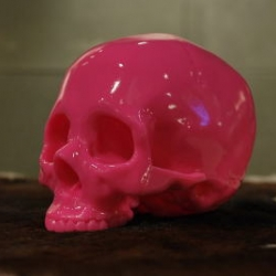 Awesome vinyl skulls by Japanese brand Shelterbank.