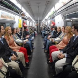 For this latest mission, the team Improve Everywhere filled a subway car with identical twins, creating a human mirror.