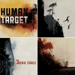 Love the fluid watercolor styled intro of Human Target