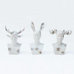 Ceramics sculpture by Indonesian artist Tisa Granicia.