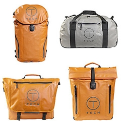 Tumi goes waterproof ~ with their HYDRO collection (part of their T-Tech line)