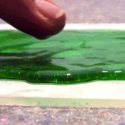 Ultra Ever Dry is a new nano polymer that repels almost any substance and can be applied to a variety of surfaces. Check out this video!