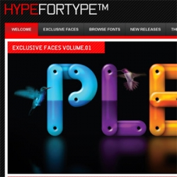 Hellohikimori, Alex Trochut, Si Scott and other creative persons made their font submissions for the  HypeForType project.