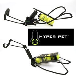 Hyper Pet's Hyper Dog Ball Launchers ~ these extreme slingshots are great with tennis balls