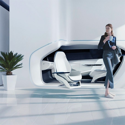 Hyundai Mobility Vision - a future where your car and home are seamlessly integrated, and the seats even become furniture in your home. The Verge takes you into the presentation to see the concept in action.