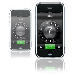 iDial's iPhone analogue style rotary dialer application brings deliciously retro inspired dialing to Apple's iPhone.