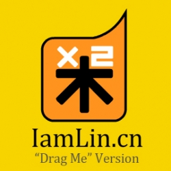 Iamlin.cn Drag Me Version is an experimental interaction website that uses natural drag movement to activate operations. No buttons or clickable text here, access contents by dragging bars.