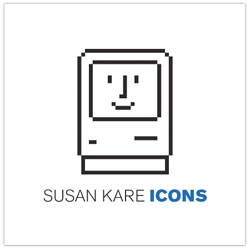 Susan Kare's Icons, a curated look at 80 of Susan Kare's favorite icons created between 1983 and 2011.
