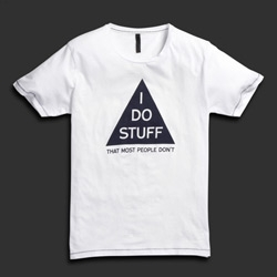 I do stuff that most people don't - shirt! By Jack Jones