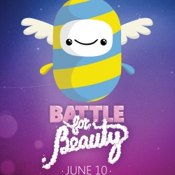 Taxi has created a unique game for Internet Explorer 9. The Battle for Beauty is the first HTML5 multiplayer game to be played simultaneously online and in the real world.