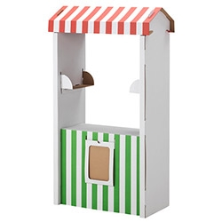IKEA SKYLTA Children's market stand - for only 15$, imagine what a fun street market you/your kids could pop up in your driveway...