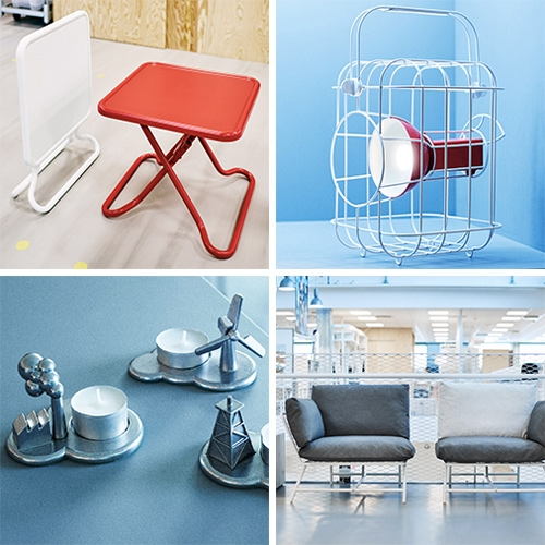 "IKEA PS Collection 2017! Dezeen gives us a peek at the preview - and this year is all about minimizing waste. They collaborated with 21 designers to create  60 products focused on ""high design values at a great price""."