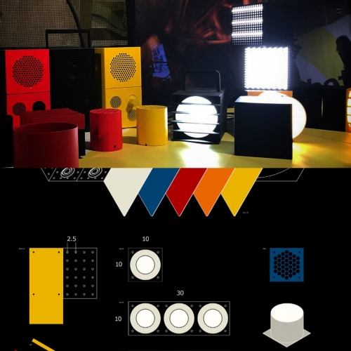 IKEA x Teenage Engineering collaboration coming in 2019 for all your party needs - speakers, lights, and more!