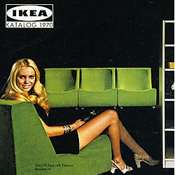 IKEA catalogues from 1963... Ikea - design and identity - is a personal depiction of faces and ideas behind Sweden's most famous products. In addition to a detailed historical overview with lots of classic designers!