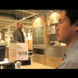 Ikea Heights is a web soap directed by that's secretly filmed inside of a Burbank IKEA.
