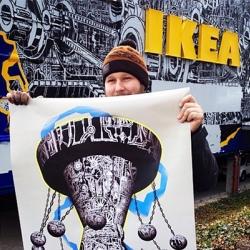 IKEA Tempelhof receives artistic facade