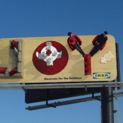 For Christmas and the New Year Ikea launched these really cool European campaigns full of Love, Hope and Joy..