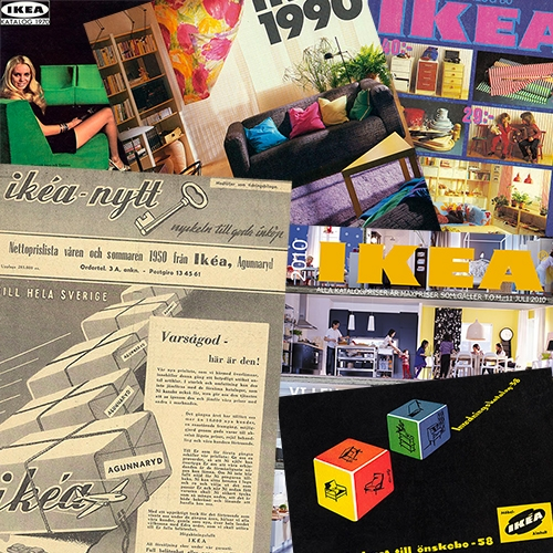 IKEA Catalogs from 1950 to 2021 are now online at the IKEA Museum!