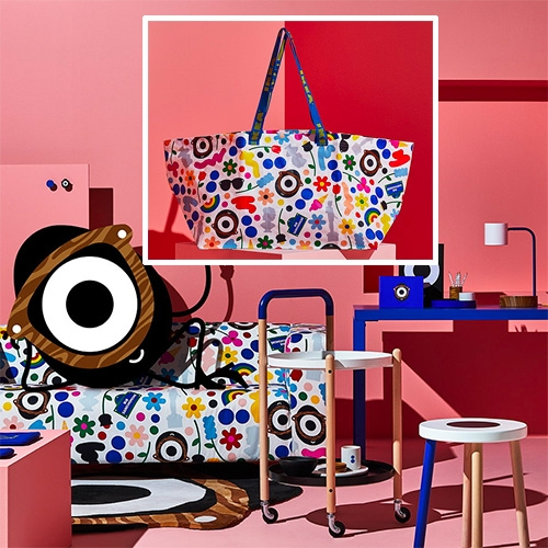 IKEA x Darcel Disappoints (by  Craig Redman) collaboration: the FÖRNYAD Collection launched today in France!