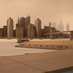 "How Humble Films made ""Ikea Manhattan"", the promo ad for the Brooklyn store (lower Manhattan reconstructed from boxes)."
