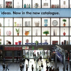 "The IKEA create the""World's Biggest Rack"" to promote the new  catalogue."