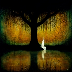 Andy Kehoe's On the Banks of Broken Worlds Print