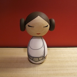 These handmade Star Wars Kokeshi dolls by Muluc are simply beautiful.