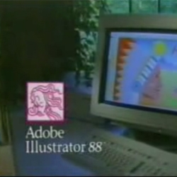 A look back to the year 1988 with the Adobe Illustrator 88 promotional video...