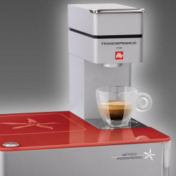 Get renowned Illy espresso in the comfort of your own home for less than the cost of a month's worth of trips to Starbucks with the Illy Y1 iperEspresso Machine