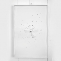 Sakura, 3D poster, by Andrew Zo.